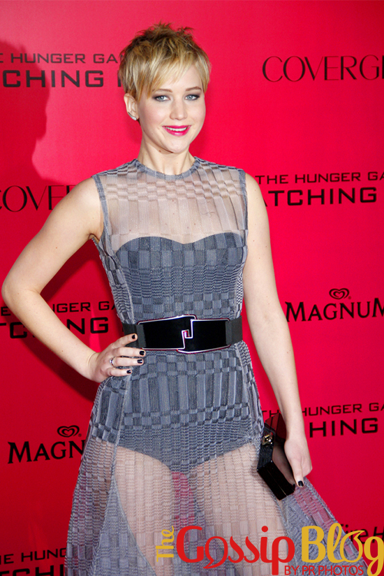 Jennifer Lawrence at 'Catching Fire' Los Angeles Premiere