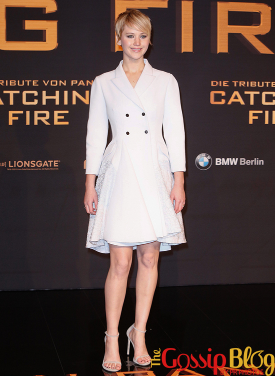 Jennifer Lawrence at 'The Hunger Games Catching Fire' Germany Premiere