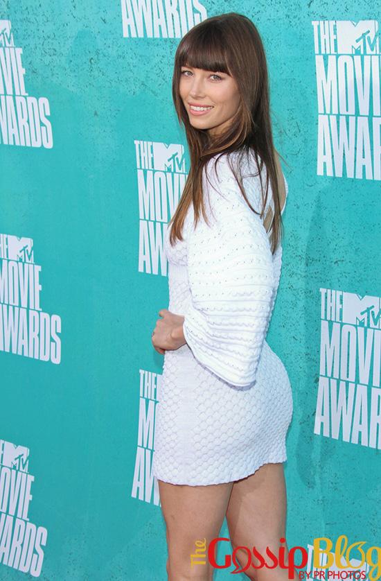 Jessica Biel at 2012 MTV Movie Awards