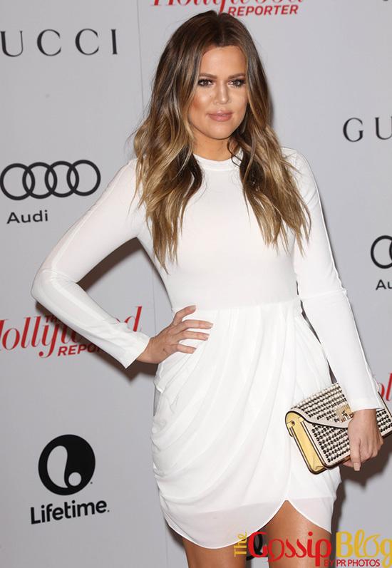 Khloe Kardashian at THR's Women In Entertainment Breakfast Honoring Oprah Winfrey