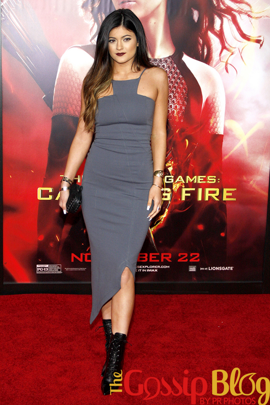 Kylie Jenner at 'Catching Fire' Los Angeles Premiere