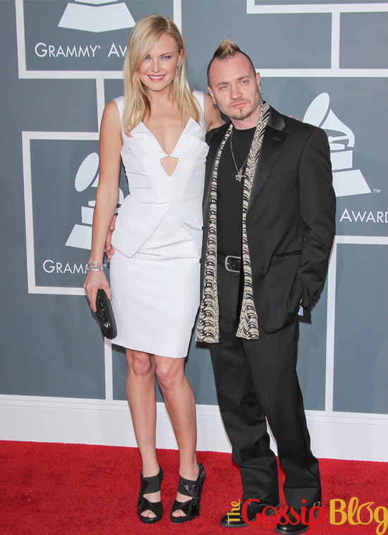 Malin Akerman at 2012 Grammy Awards