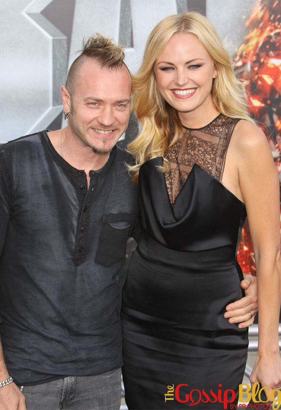 Malin Akerman at 'Battleship' LA Premiere