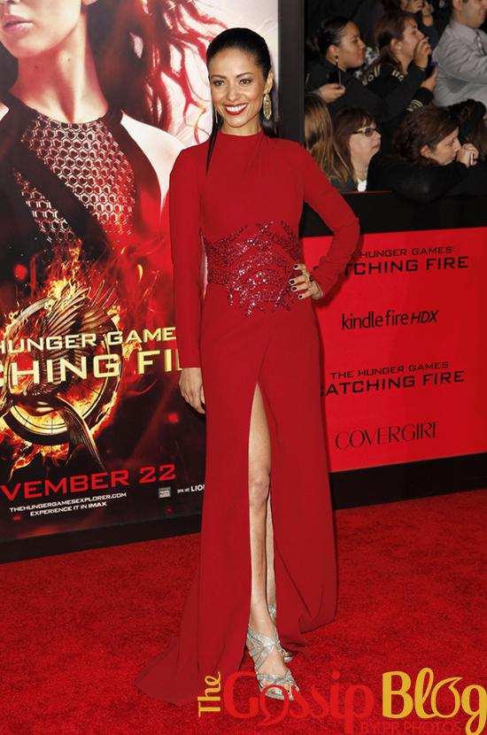 Meta Golding at 'Catching Fire' Los Angeles Premiere