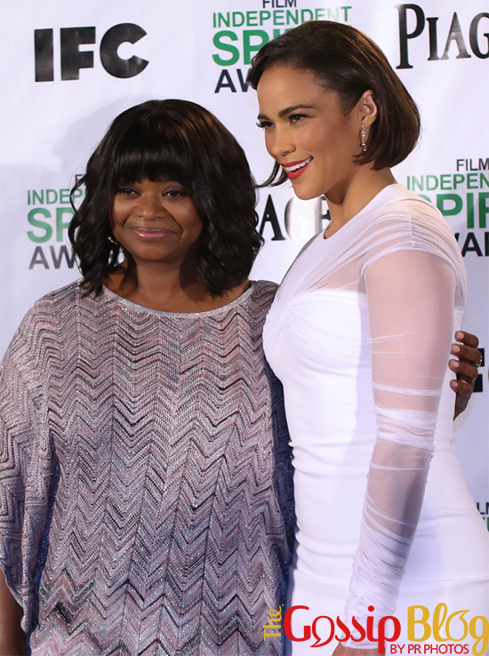 Paula Patton at 2014 Film Independent Spirit Awards Nominations Announcement