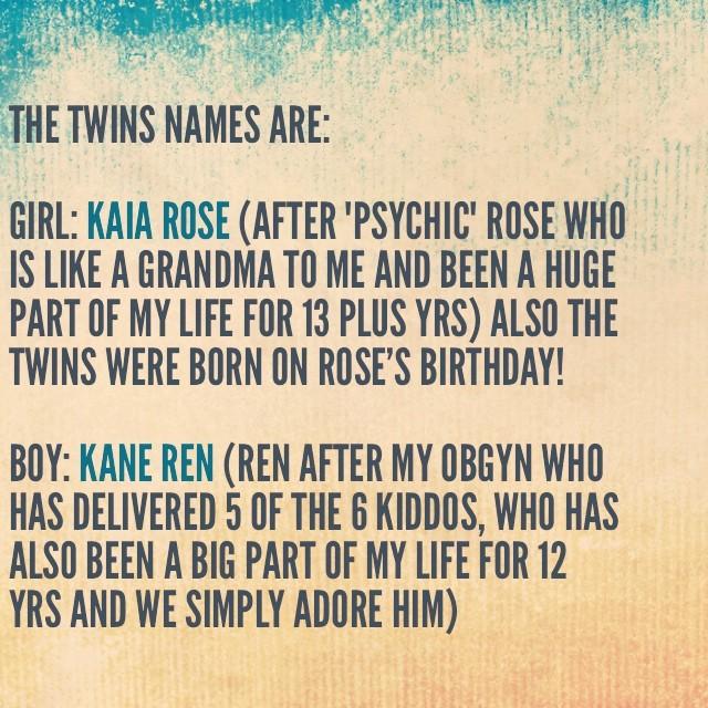 kim zolciak babies names