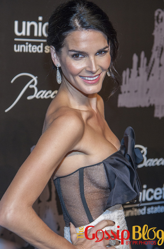 Angie Harmon at 9th Annual UNICEF Snowflake Ball- Side Boob