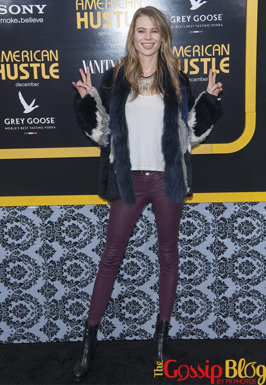 Behati Prinsloo at 'American Hustle' NYC Premiere