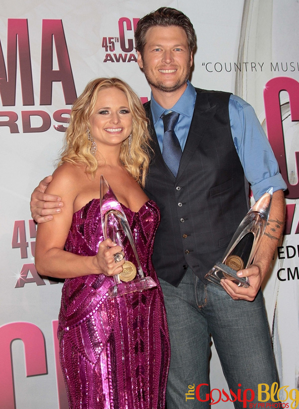 Blake Shelton and Miranda Lambert 2