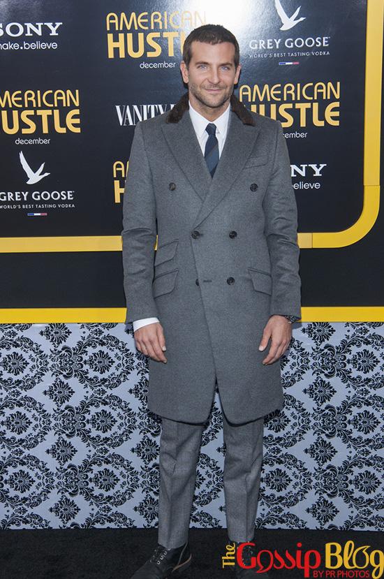 Bradley Cooper at 'American Hustle' NYC Premiere