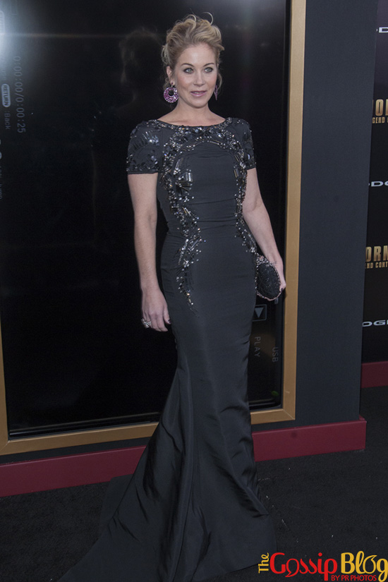 Christina Applegate at 'Anchorman2' NYC Premiere