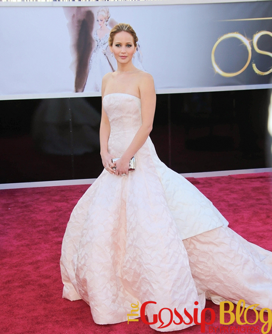 Jennifer Lawrence at 2013 Academy Awards