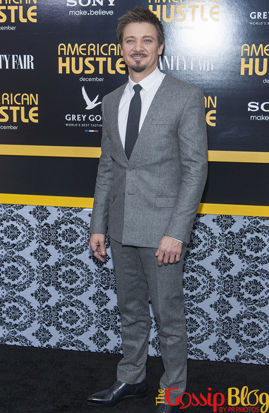 Jeremy Renner at 'American Hustle' NYC Premiere