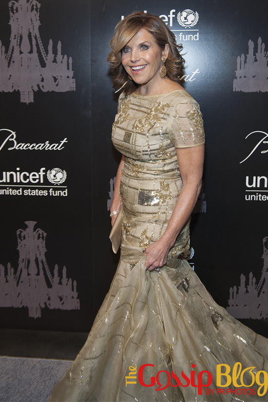 Katie Couric at 9th Annual UNICEF Snowflake Ball