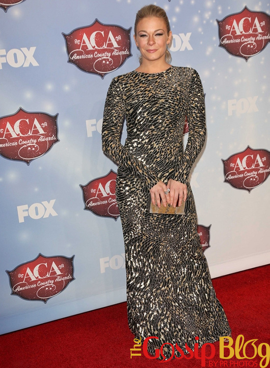 LeAnn Rimes at American Country Awards 2013