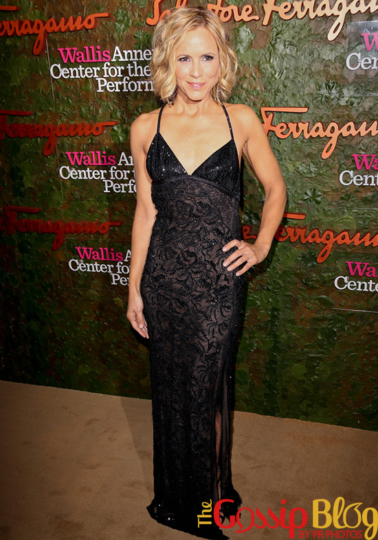 Maria Bello at Wallis Annenberg Center for the Performing Arts Inaugural Gala