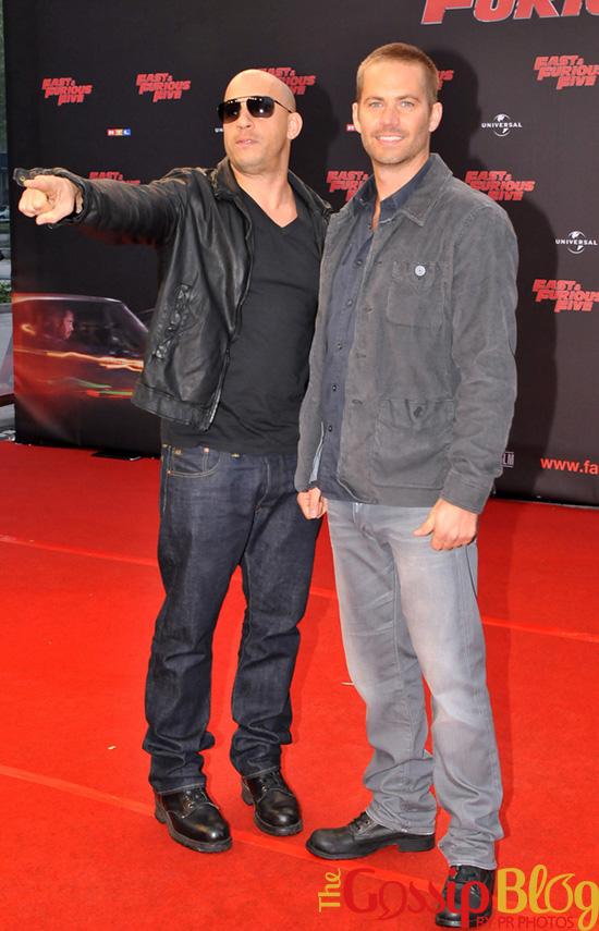 Paul Walker at 'Fast & Furious 5' Cologne Premiere