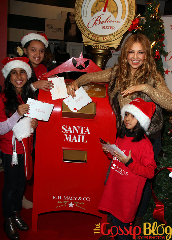 Thalia at Macy's National Believe Day! Campaign 5