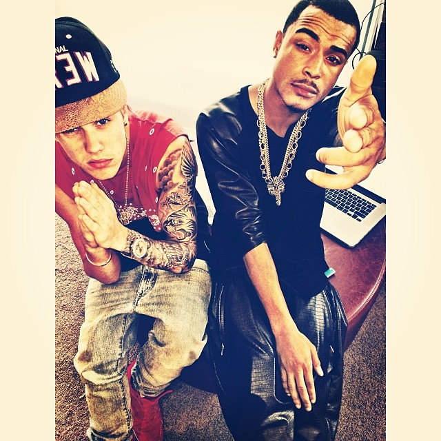 justin and friend