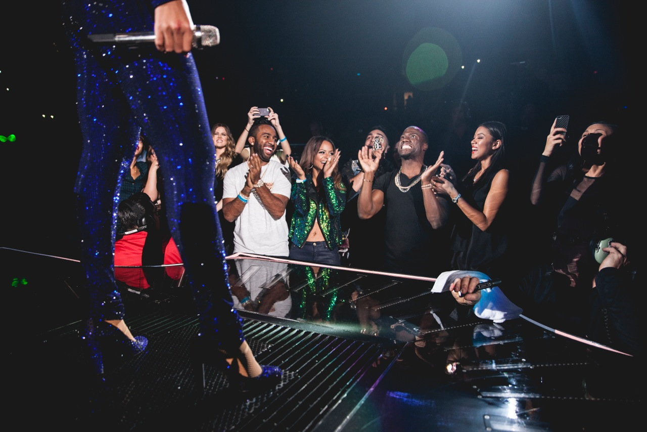 kevin hart happy to see beyonce