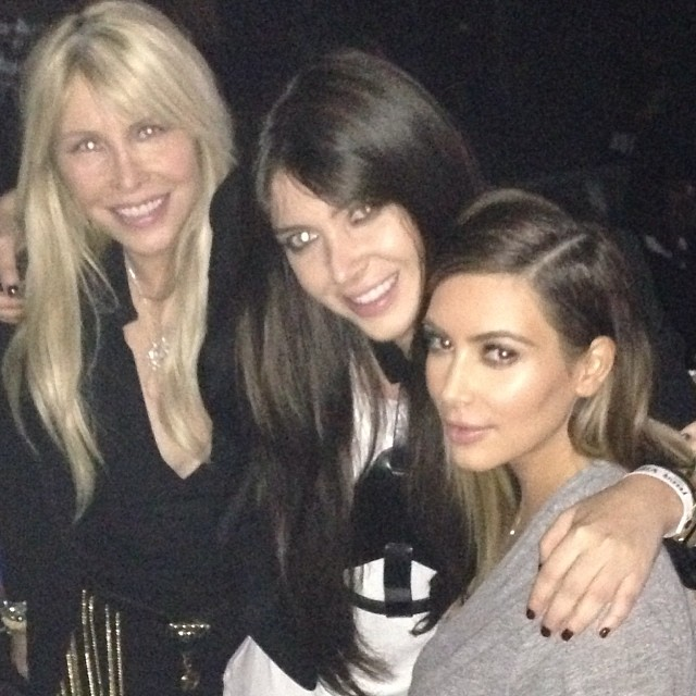 kim and friends