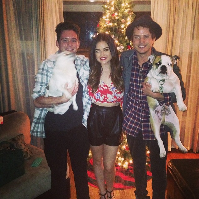 lucy hale christmas tree