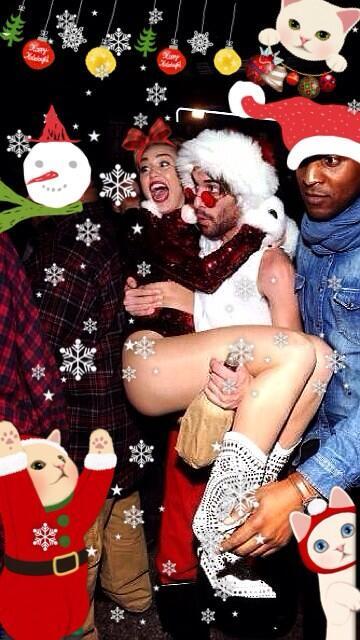 miley cyrus slutty santa