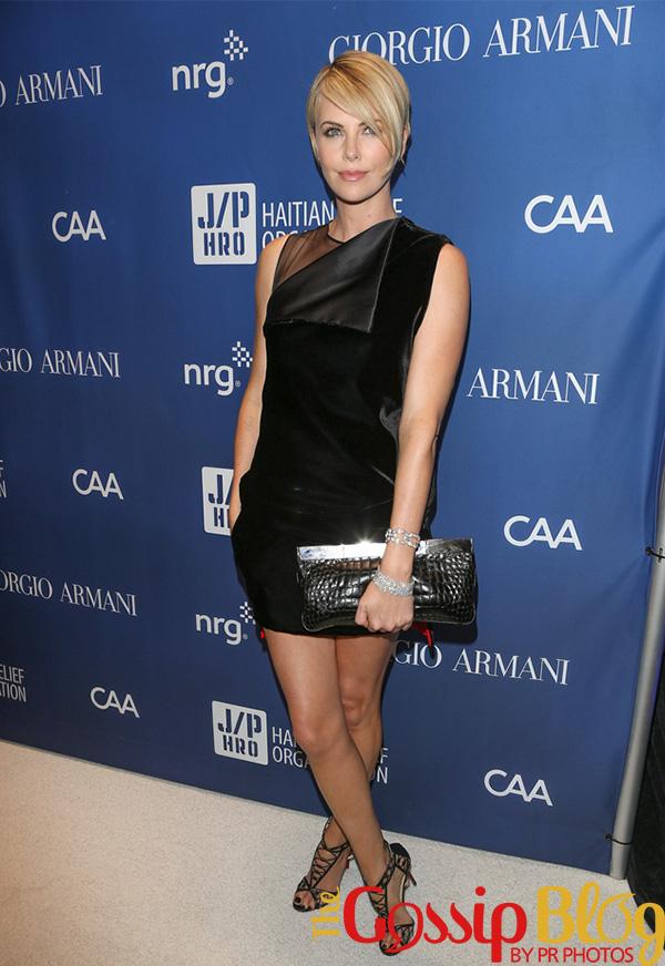 Charlize Theron at Help Haiti Home Gala