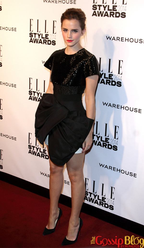 Emma Watson at Elle Style Awards 2014