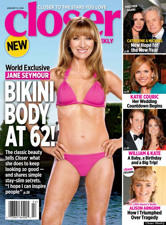 JANE-SEYMOUR-pink-bikini-Closer-cover