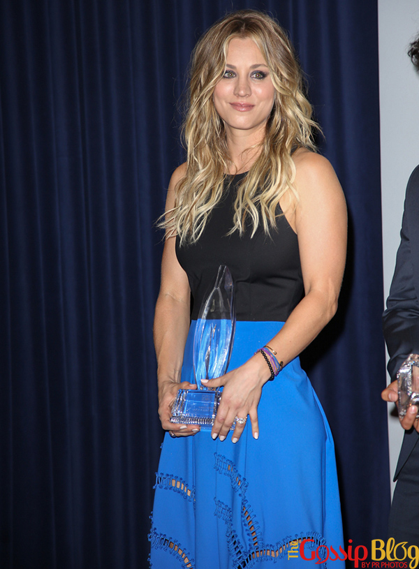 Kaley Cuoco at 40th Annual People's Choice Awards