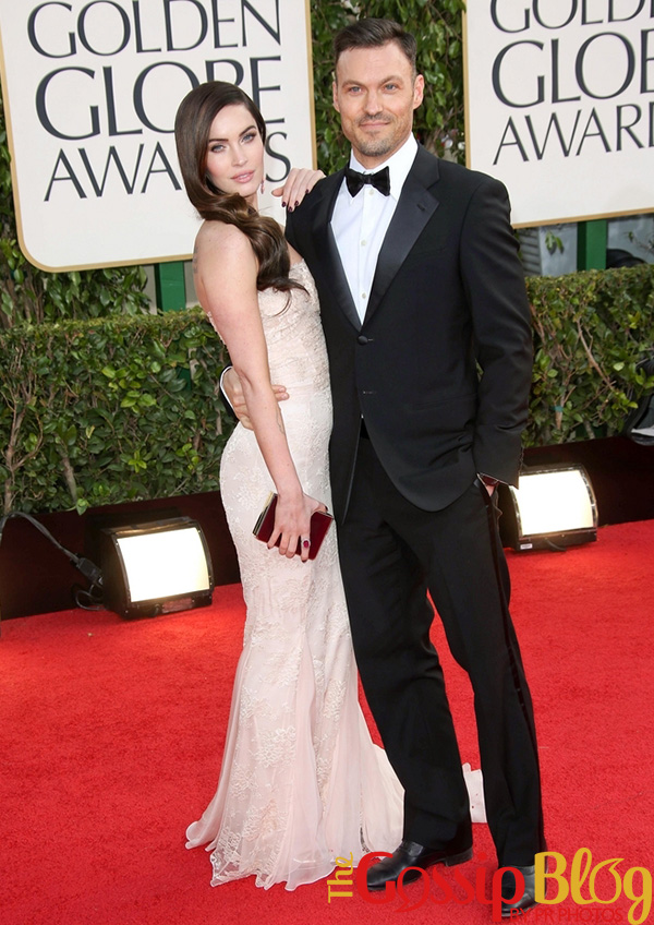 Megan Fox and Brian