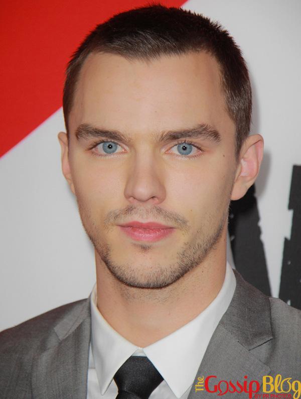Nicholas Hoult blue eyes