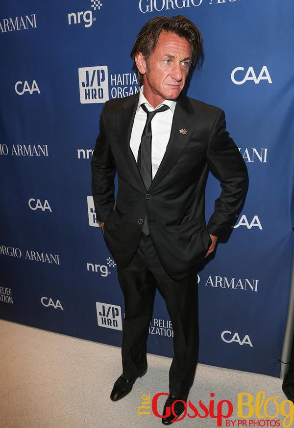 Sean Penn at Help Haiti Home Gala