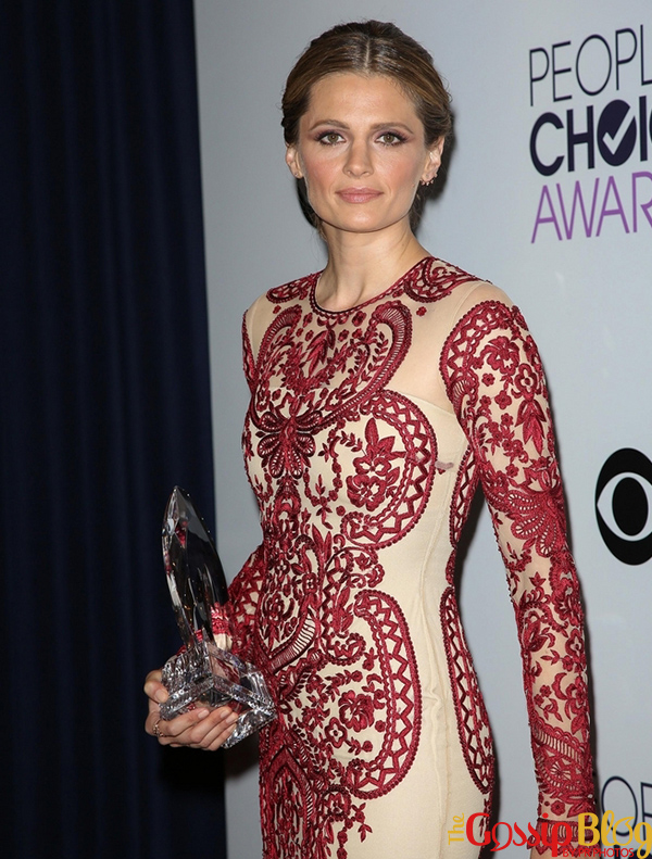 Stana Katic at 40th Annual People's Choice Awards