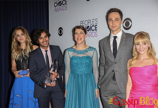 The Big Bang Theory cast at 40th Annual People's Choice Awards