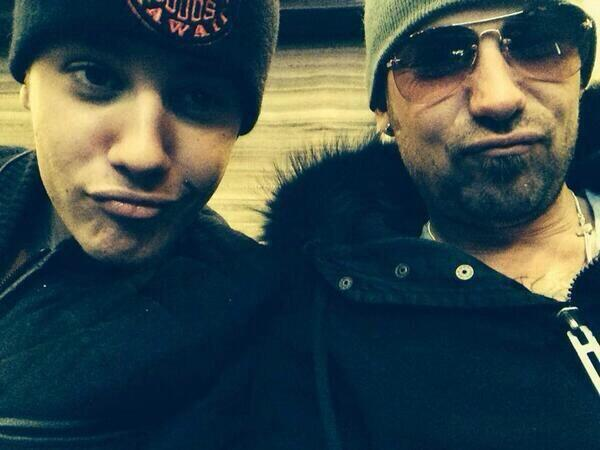 bieber and dad jeremy