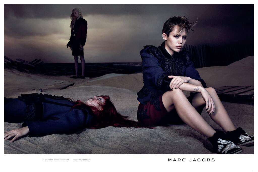 miley for marc jacobs