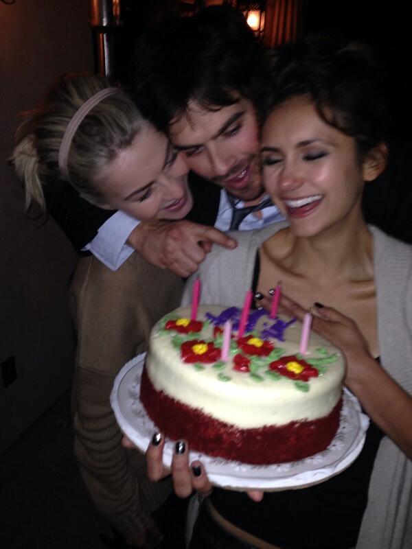 nina, jules and ian birthday cake
