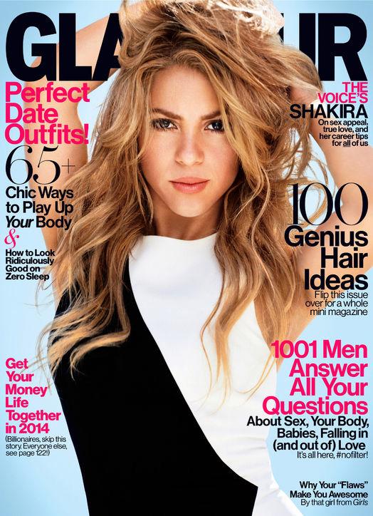 shakira glamour cover