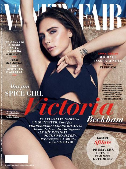 victoria beckham vanity fair italy cover
