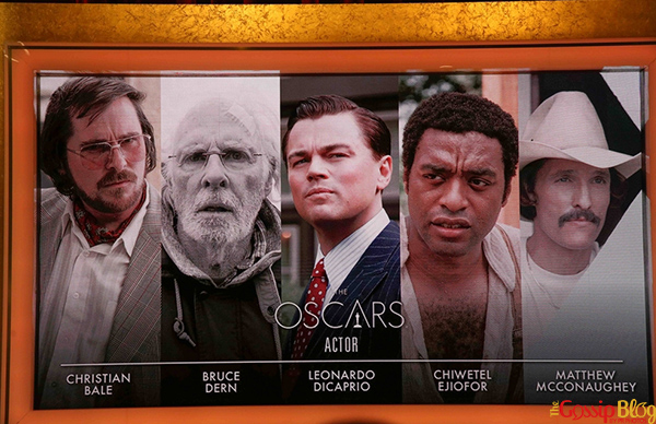 2014 Oscar nominees Actor