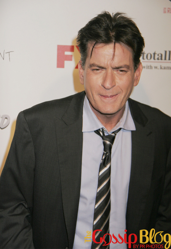 Charlie Sheen engaged