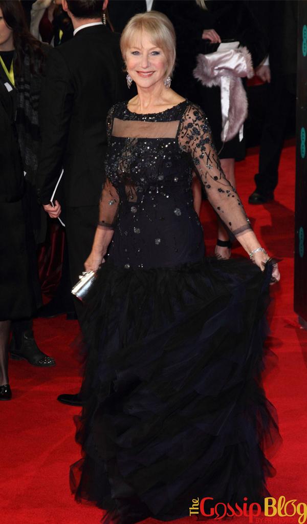 Helen Mirren 2014 BAFTAs