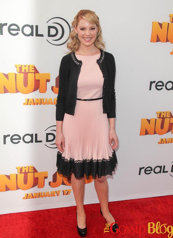 Katherine Heigl 'The Nut Job' Los Angeles Premiere