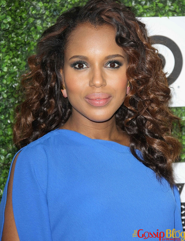 Kerry Washington hair and makeup Essence Luncheon