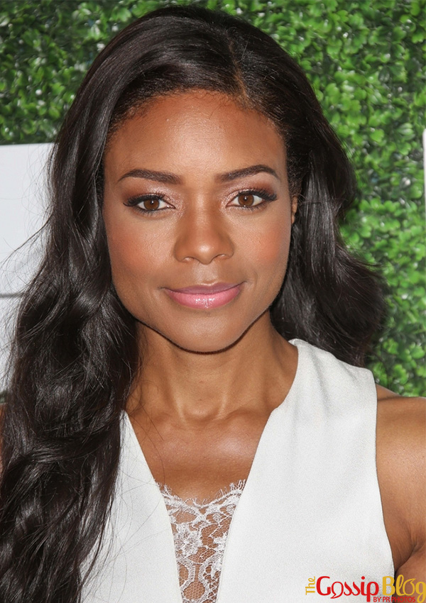 Naomie Harris hair and makeup Essence Luncheon
