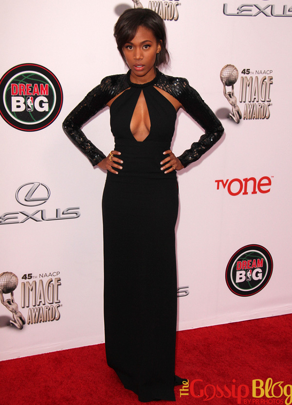Nicole Beharie 2014 NAACP Image Awards