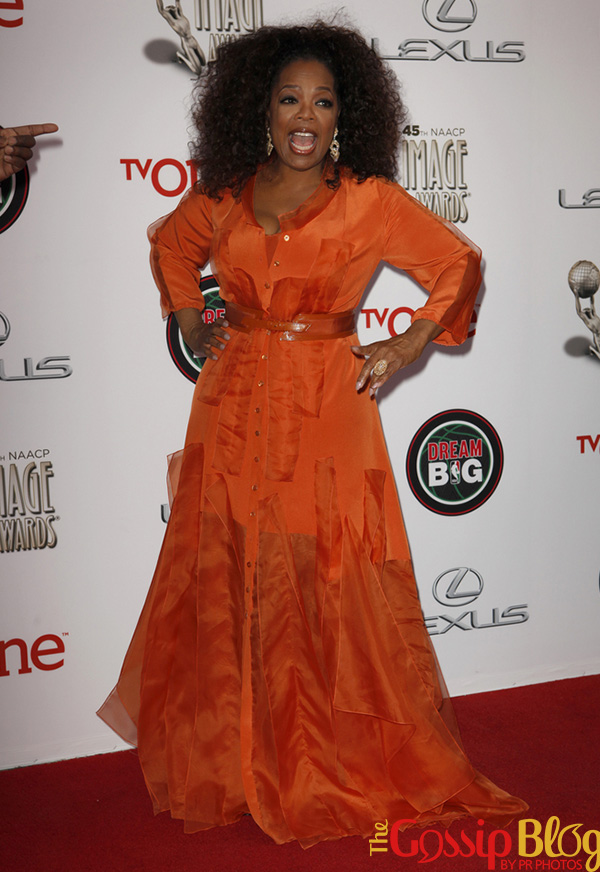 Oprah 2014 NAACP Image Awards