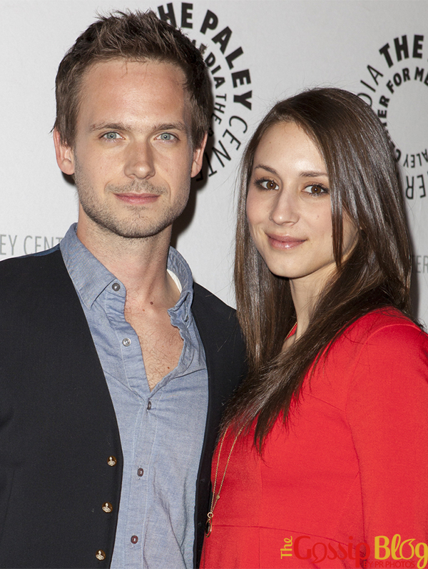 Patrick J Adams and Troian Bellisario